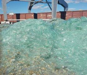 Применение измельченного стекла